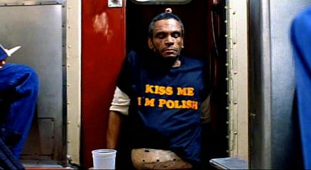 Kiss me, I'm Polish - napis na koszulce