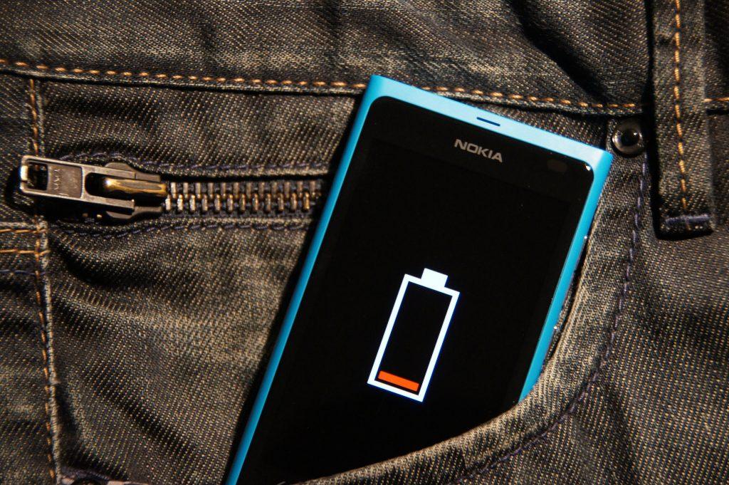 Nokia Lumia 800 - rozładowana bateria