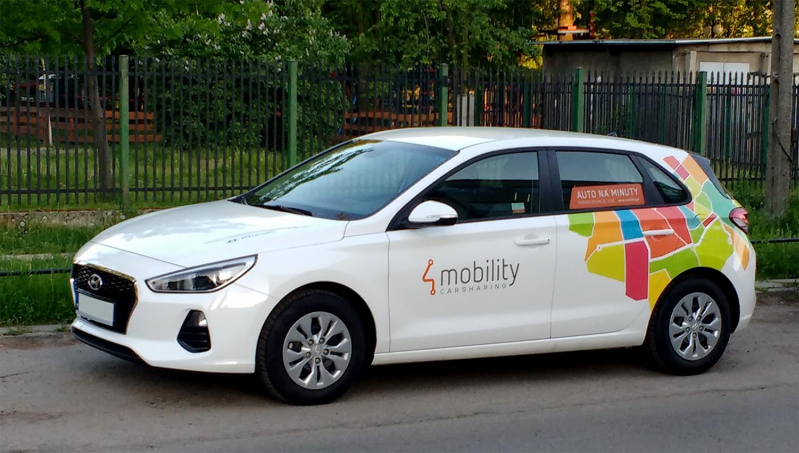 Zdjęcie samochodu Hyundai z floty 4mobility