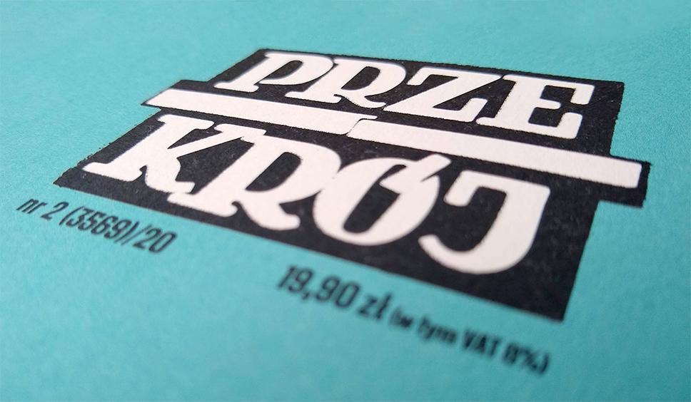 Logotyp na okładce wiosennego numeru Przekroju